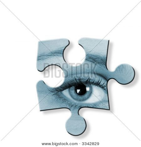 Eye Jigsaw Piece