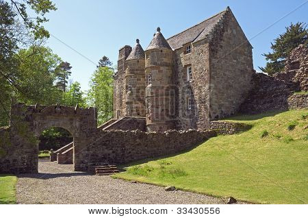 Medieval Scottish Castle