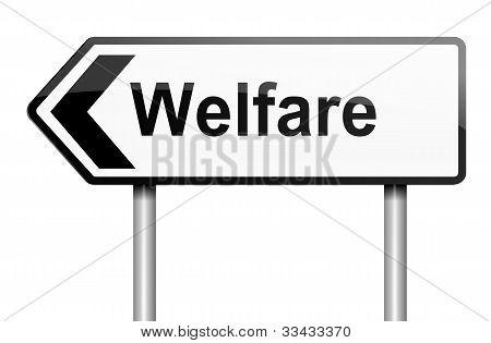 Welfare Concept.