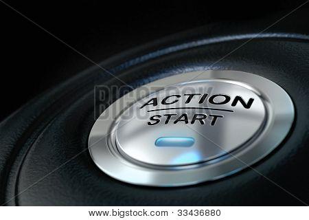 Aktion-Startknopf