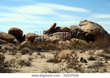 Tumbling Rocks at Joshua Tree