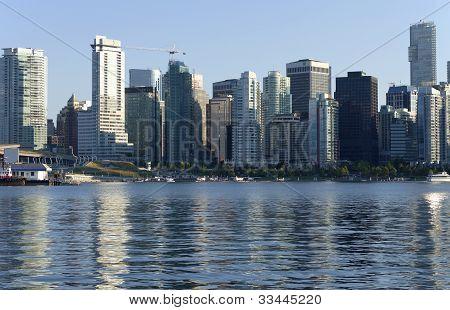 Vancouver Bc Skyline.