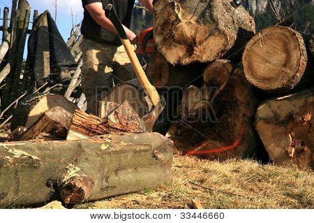 Lumberjack Equipment - ax