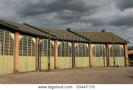 Old Fashion Storage Buildings