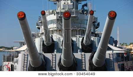 Naval Guns, Battleship
