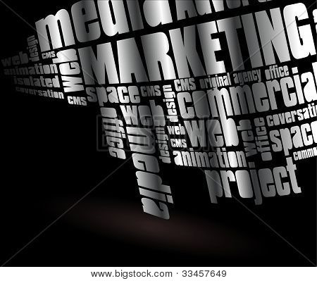 Letter illustration - marketing