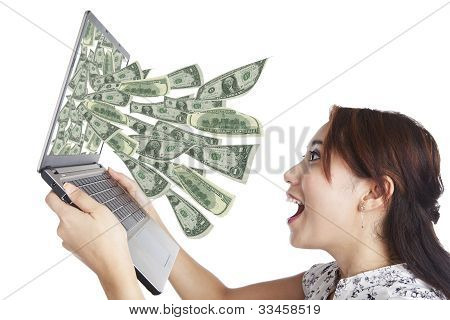 Money From Laptop