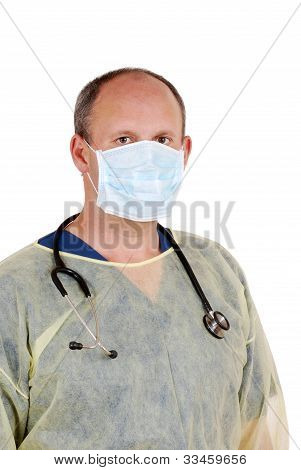 surgeon ready for minor surgery