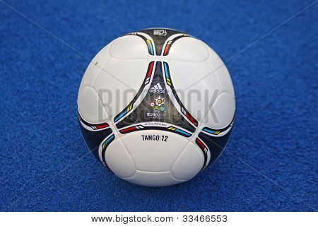 Close-up Official Uefa Euro 2012 Ball