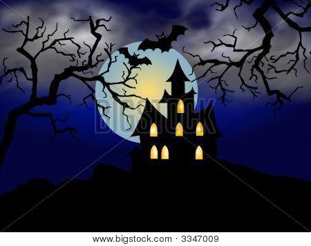Halloweenlandscape
