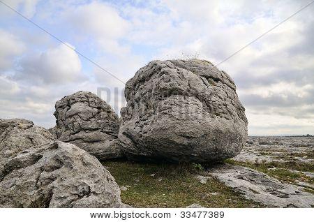 The Burren Boulders