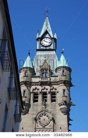 Clock Tower in Dunfermline