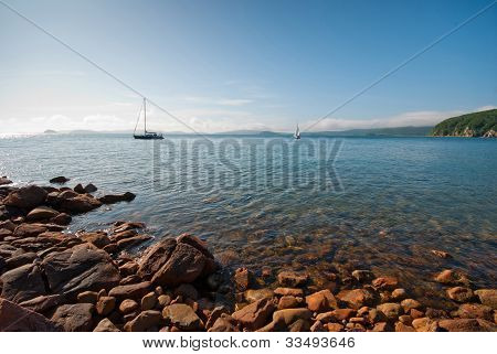 A Quiet Picturesque Bay