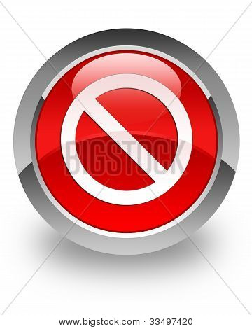 Prohibit glossy icon