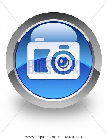 Digital camera glossy icon
