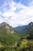 Canyon Of The Tara River poster