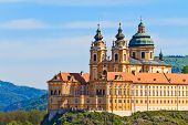 stock photo of benediction  - Melk Abbey is an Austrian Benedictine abbey and one of the world - JPG