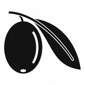 Mediterranean Olive Icon. Simple Illustration Of Mediterranean Olive Vector Icon For Web Design Isol poster