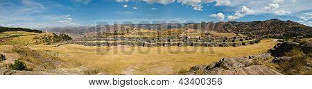 Sacsayhuaman Panorama Shot