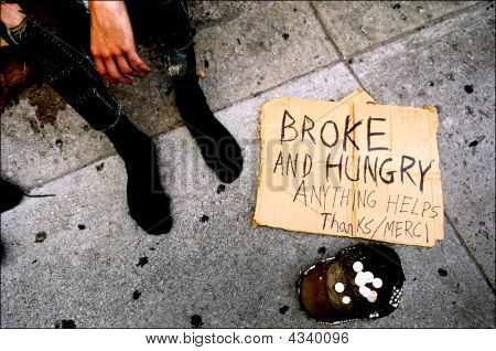 Broke And Hungry