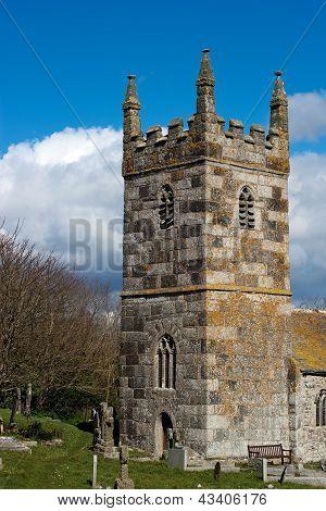 St. Wynwallow's Church Cornwall