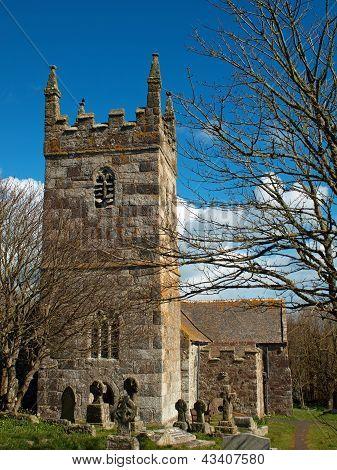 St. Wynwallow Church - Landewednack - Cornwall