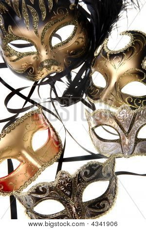 Various Carnival Masks