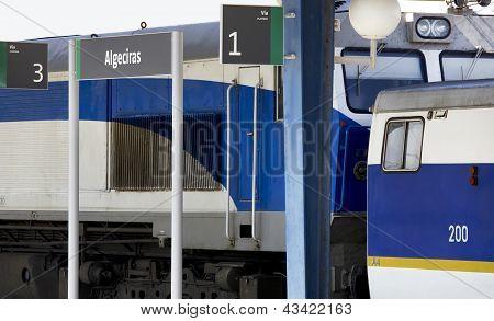 Train On Platforms