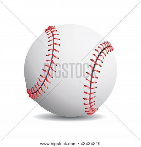 Realistic baseball