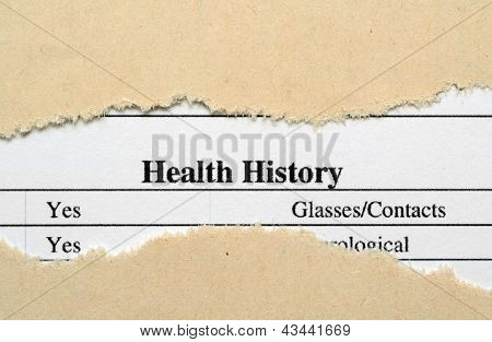 Health History