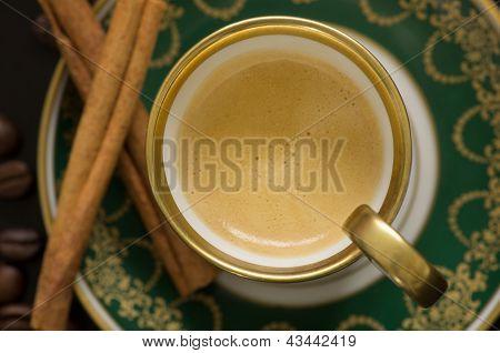 Mokka In Old Oriental Cup