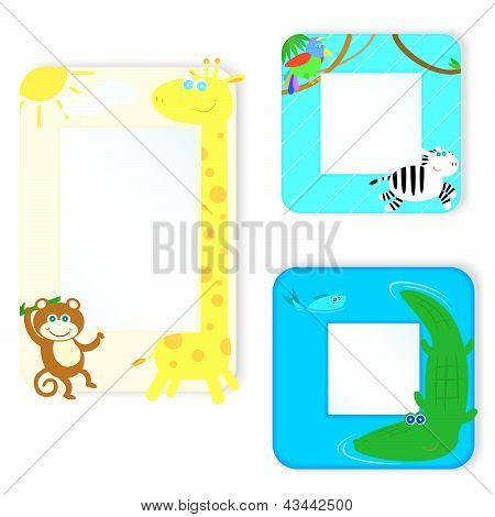 The Frame With Animals