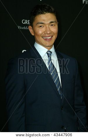 LOS ANGELES - MARCH 18: Rick Yune arrives at the premiere of