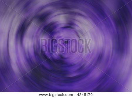lila kreisförmige blur