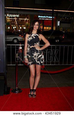 LOS ANGELES - MAR 18:  Alexis Knapp arrives at