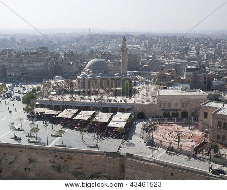 View Of Aleppo Syria