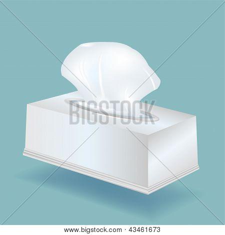 Tissue Box Vector.eps