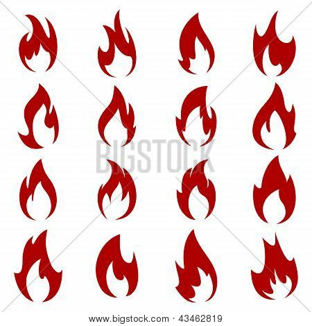 Set Of Flame