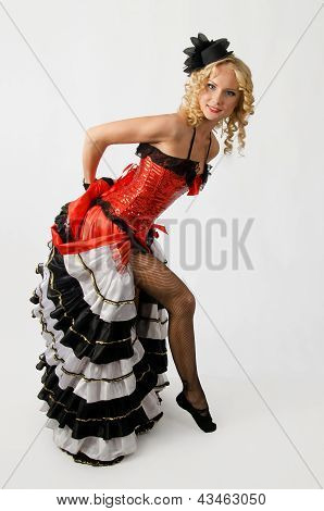 Cancan Dancer