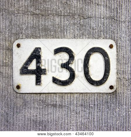 Nr. 430