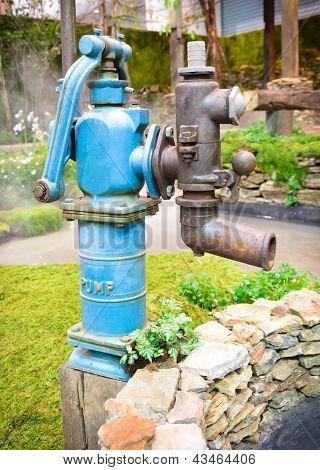 Old Retro Water Pump