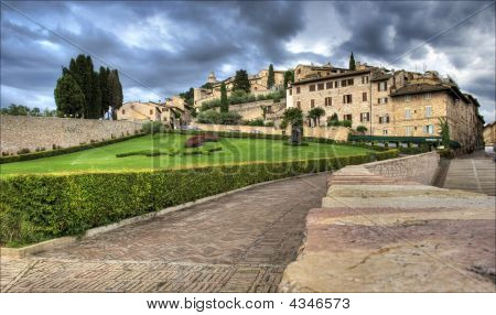View Over Assisi