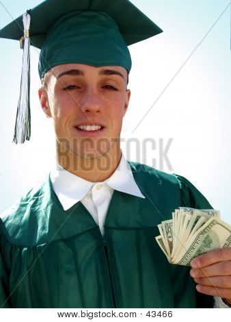 GOT MONEY FOR COLLEGE 1 With Blue Background