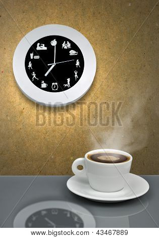 It's Coffe Break Time