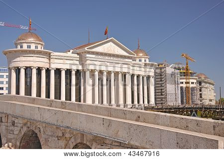 The Modern Look Of Skopje City, Macedonia