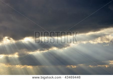 Dramatic Clouds And Sun Rays- Cloudscape Shoot 5