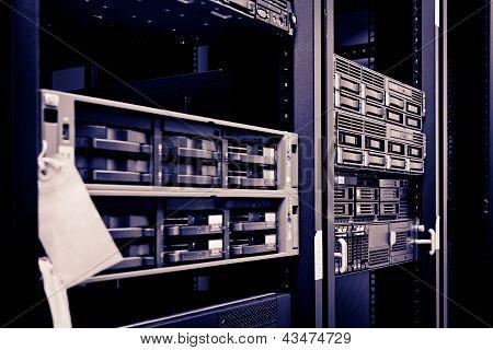 Network Server Rack Hard Disks