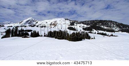 Mosses Winter Landscape, Vaud, Switzerland