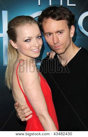 LOS ANGELES - MAR 19:  Francesca Eastwood, Tyler Shields arrive at