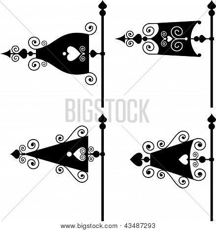 set of vanes